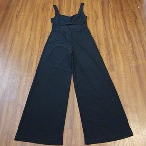 Other - Sexy Black Wide leg Jumpsuit